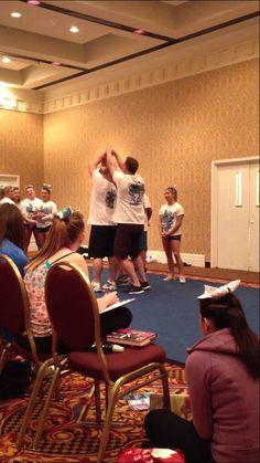 Cheerleading. 1/2 to lib