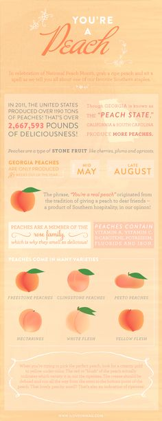 all you could ever want to know about peaches!