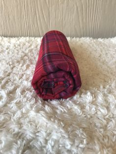 Pure 100/% laine plaid//couverture-MADE IN ENGLAND-Red Herringbone