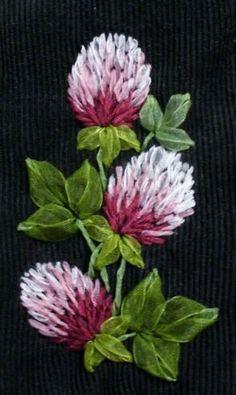вышивки из лент: