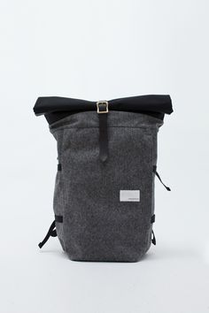 nanamica cycling pack in tweed