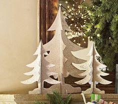 Glitter Tree Set #PotteryBarnKids