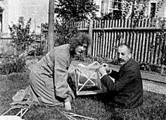 Erica von Scheel and Henry van de Velde, in 1906