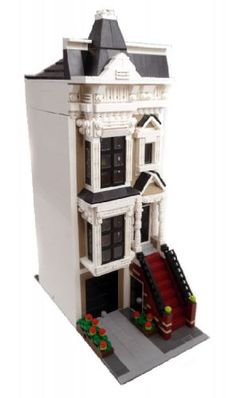 San Francisco Stick Style House - Modular Building: A LEGO® creation by Brian Lyles : MOCpages.com