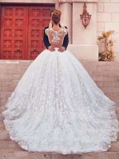 Kaftan dubai arabic muslim wedding dresses ball gown sheer neck long sleeve wedding dresses lace chapel train bridal dresses 2015 online with $159.16/piece on wheretoget's store
