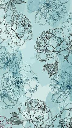 Trendy Wallpaper, New Wallpaper, Flower Wallpaper, Cute Wallpapers, Iphone Wallpapers, Iphone Backgrounds, Floral Wallpapers, Fashion Wallpaper, Print Wallpaper