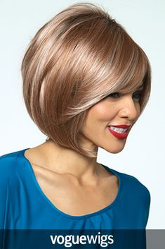 Jolie by Noriko is a chin-length modern bob that is perfectly layered with texture and volume. The monofilament cap provides a comfortable fit and natural look to enhance your confidence when wearing this wig.
