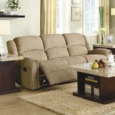 Found it at Wayfair - Woodbridge Home Designs Esther Chenille Reclining Sofa