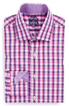 English Laundry - Trim Fit Check Dress Shirt  on Tailored Fit