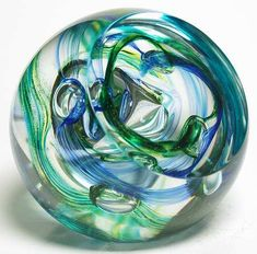 Crystal Paperweight,Caithness, Scotland