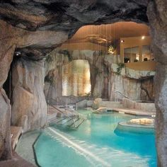 The ultimate indoor swimming pool!