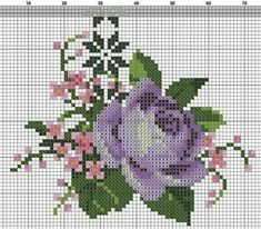 Cross Stitching, Cross Stitch Embroidery, Hand Embroidery, Tiny Cross Stitch, Cross Stitch Flowers, Types Of Embroidery, Embroidery Patterns, Bead Loom Patterns, Cross Stitch Patterns