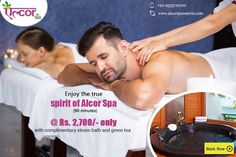 Enjoy the true essence of The Spirit of Alcor Spa at our Gurgaon and Paschim Vihar Center!For booking visit us at: http://alcorspa.in/book-appointment/ or call us at: +91-9015191926#AlcorSpa #BodyMassage #Jacuzi #TheSpiritofAlcorSpa #BestSpaInGurgaon #Delhi #BookAppointment