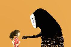 Studio Ghibli Goes Old-School in Awesome 8-Bit Tributes   Spirited Away, 2001.  Richard J. Evans    WIRED.com