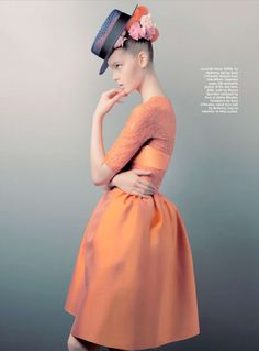 """Who's That Girl?"" : Jemma Baines : Marie Claire Australia November 2012 : Troyt Coburn"