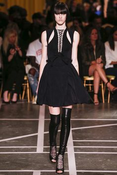 A look at the Givenchy spring 2015 collection.