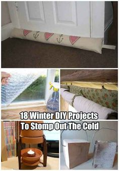Winter Preparedness: Winter diy projects to stomp out the cold. Winter Hacks, Winter Tips, Winter Survival, Diy Bed, Home Repair, Home Hacks, Homesteading, Woodworking Plans, Home Improvement