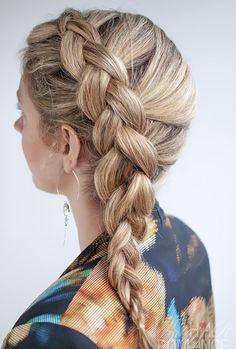 Dutch Side Braid Hairstyles - http://www.premiumgradehair.com/dutch-side-braid-hairstyles.html