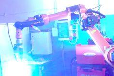 saldatura robotizzata certificata ISO-3834 EN-1090 di strutture in acciaio pesanti