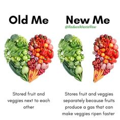 Reduce Waste, Zero Waste, Food Facts, Fruits And Veggies, Cooking Tips, Food Tips, Meal Prep, Healthy Eating, Healthy Food