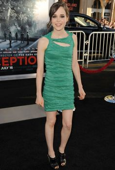 love the dress design (Ellen Page at the 2010 Inception premiere)