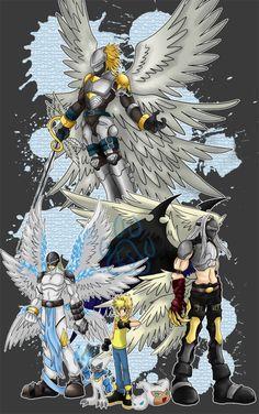 Digimon Comm_Impmon by EmeraldSora on DeviantArt L Anime, Anime Art, Sonic Fan Characters, Anime Characters, Power Rangers Pictures, Digimon Fusion, Digimon Wallpaper, Monster Hunt, Digimon Adventure 02