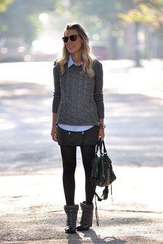 GREY1 Meu Look: Mrs.Grey!!!!! Winter Sobreposição Meu Look Casual Meu Look maxi tricot Look Frio Cinza 50 tons de cinza