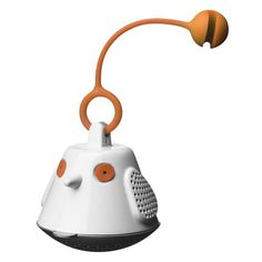 QDO Birdie String Tea Infuser, Orange