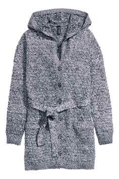 Propínací svetr s kapucí | H&M