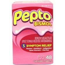 Pepto Bismol Tablets