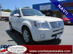 2009 MERCURY MARINER -- ONLY 51.100 MILES! -- NAVIGATION! -- BLUETOOTH! -- Clean CAR-FAX! -- Price INCLUDES A 3 MONTH,3,000 Mile WARRANTY! -- CALL TODAY! * 757-424-6404 * FINANCING AVAILABLE! -- Courtesy Auto Sales SPECIALIZES In Providing You With The BEST PRICE On A USED CAR, TRUCK or SUV! -- Get APPROVED TODAY @ courtesyautosales.com * Proudly Serving Your USED CAR NEEDS In Chesapeake, Virginia Beach, Norfolk, Portsmouth, Suffolk, Hampton Roads, Richmond, And ALL Of Virginia SINCE 1976!