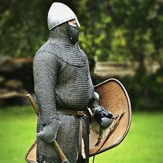 Medieval Knight, Medieval Armor, Norman Knight, Ottonian, Roman Britain, Germanic Tribes, Armadura Medieval, Live Picture, Armours