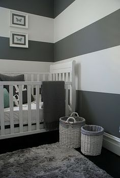 Looking for a color to paint Littlest D's room ... loving grays right now
