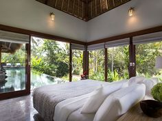 Step right into the pool from your room! #Bali #Indonesia