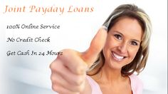 Solve your all financial problems with us, Just apply for Joint Payday Loans and get financial assistance instantly after approval.