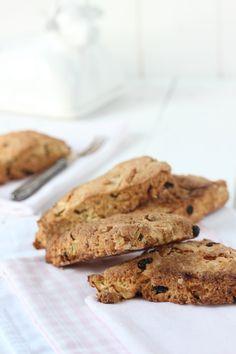 oatmeal apple scones