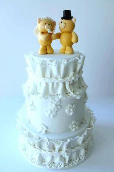 wedding teddy