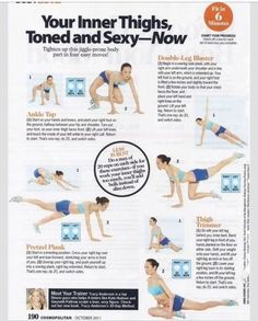 Inner Thigh Workout!! Make Sure Your Legs Look Good In Skinny Jeans And Leggings