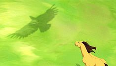 """""""And so I grew from colt to stallion, as wild and reckless as thunder over the land. Racing with the eagle, soaring with the wind. There were times I believed I could. Dreamworks Animation, Animation Film, Disney And Dreamworks, Spirit The Horse, Spirit And Rain, Disney Love, Disney Art, Horse Movies, Childhood Movies"""