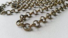 "Vintage Kalevala Bronze Necklace / Chain ""Setukaisten kääty"", Finland (F384) by LifeUpNorth on Etsy"