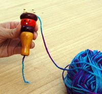 Spool Knitting - Kids would love this for rainy day recess...