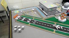 Resultado de imagem para maquete de aeroporto como fazer