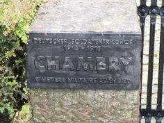 Stèle cimetière allemand Chambry