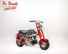 Honda white cz100 1963