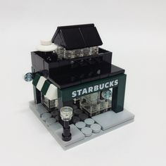 [MOC] Starbucks Mini Modular by DASI