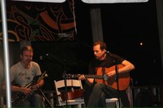 Johnny D playing with Cillian Vallely on the Uillean Pipes and brother Niall Vallely (not pictured) at the 2011 Austin Celtic Festival. This was absolutely the best festival yet.