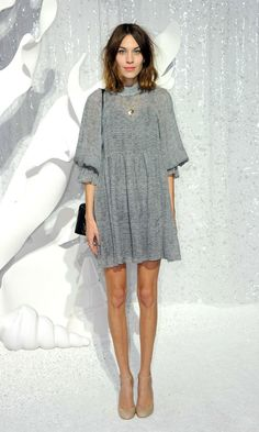 Alexa at CHANEL ss12 show.