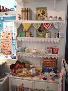Gorgeous dresser! @craft candy's photostream on Flickr