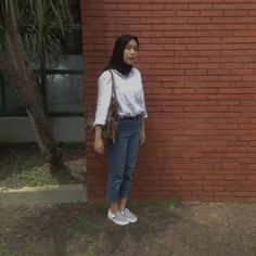 Ootd Hijab, Hijab Outfit, Outfit Ideas, Normcore, Casual, Outfits, Style, Fashion, Clothes