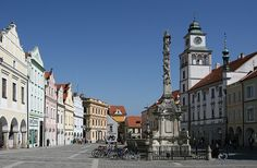 Třeboň Beautiful Places In The World, Most Beautiful, 14th Century, Czech Republic, Prague, City, Building, Castles, Houses